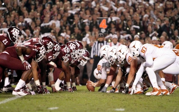 NCAA Football: Texas at Texas A&M